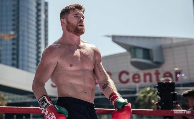 El boxeador 'Canelo' Álvarez canceló su tradicional pelea en el mes patrio de México