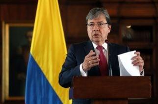 Canciller colombiano inicia gira por Estados Unidos