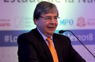 Canciller Holmes Trujillo reitera en Washington su rechazo a vínculos entre el ELN y Maduro