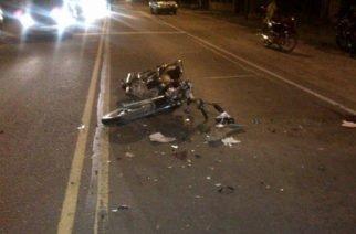 En San Pelayo un hombre se cayó de la moto y se mató por conducir ebrio