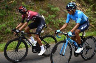 Egan Bernal se posicionó en el tercer lugar de la general y Aert ganó la décima etapa del Tour