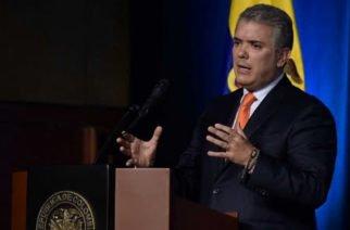 Presidente Duque asegura que el deseo de Santrich es eludir la justicia