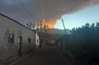 Emergencia en Perú por erupción del volcán Ubinas