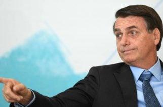 Bolsonaro autorizó el uso de las Fuerzas Armadas para combatir incendios en la Amazonía