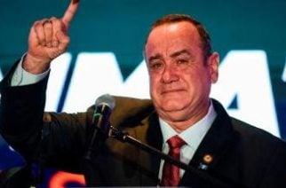 Alejandro Giammattei es el nuevo presidente de Guatemala