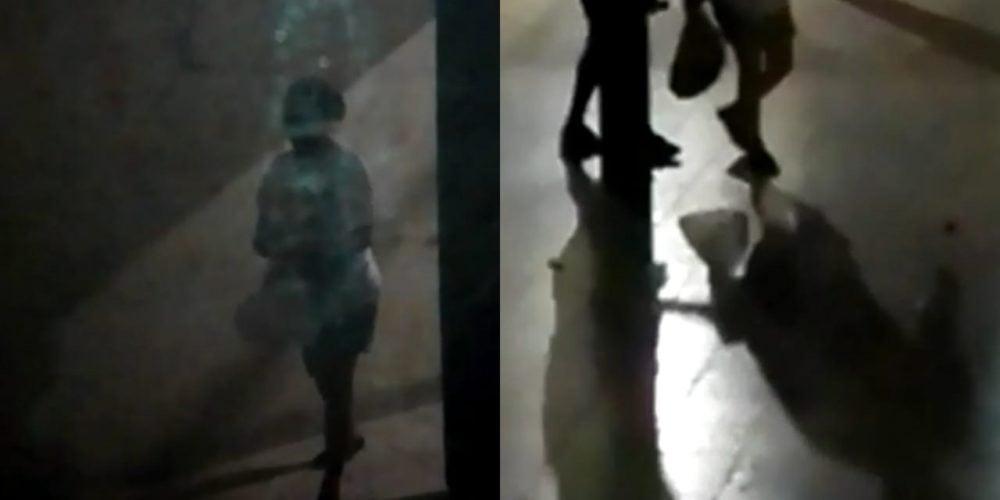 ¿La pillaron infraganti? Veedora del PAE sale de un colegio en Purísima cargando una bolsa de comida