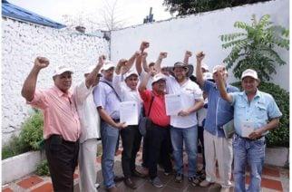 Asociación de Campesinos se adhiere a la candidatura de Orlando Benítez