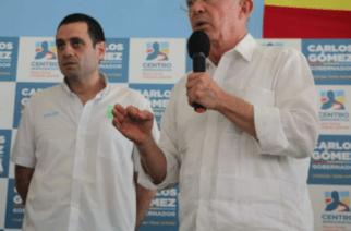 Álvaro Uribe brinda su respaldo a la candidatura de Salin  Ghisays para la Alcaldía de Montería