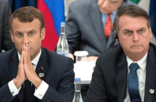 Emmanuel Macron acusó a Jair Bolsonaro de mentirle sobre el Amazonas