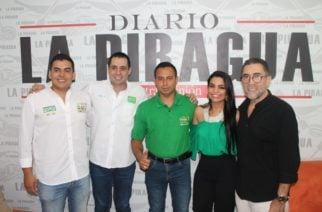 Candidato al Concejo por el partido Alianza Verde, José Luis Gómez, se adhirió a la campaña de Salin Ghisays