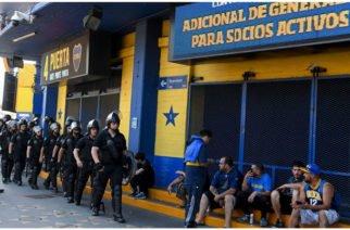 En Argentina evacuaron el estadio de Boca Juniors por amenaza de bomba