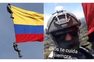 Este sería el video que militares habrían grabado antes de caer al vacío en Medellín