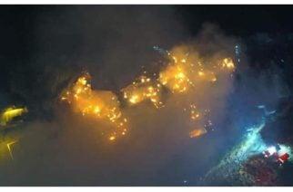 Explosión de un cilindro de gas generó incendio en Armenia