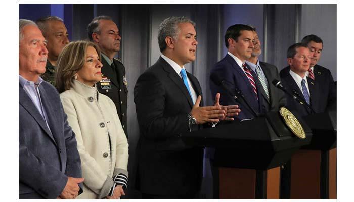 Fiscal de EE.UU. ratifica compromiso por contribuir con la desarticulación del ELN