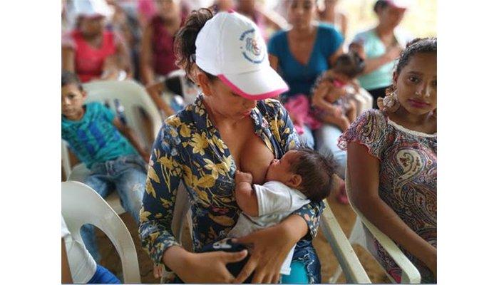 Fundación 'Terre des hommes' impulsó la lactancia materna para niños y niñas en Puerto Libertador y Tierralta