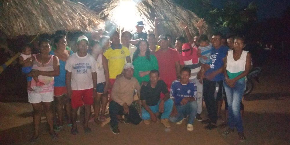 Artesanos de San Andrés de Sotavento se suman al proyecto de Annabella Fernández