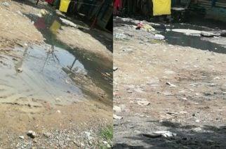 Habitantes del barrio Nueva Esperanza reclaman atención por rebosamiento de manjoles
