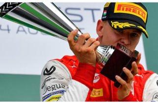 Mick, el hijo de Michael Schumacher, ganó su primera carrera en la Fórmula 2