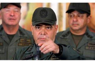 Ministro de Defensa venezolano amenaza a Colombia con acciones militares