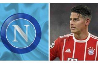 Nápoles hará a mediados de agosto una nueva oferta por James