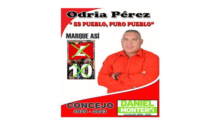 Odria Pérez afirma que su campaña no comprará conciencias