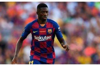 Otro lesionado en el Barcelona: Ousmane Dembélé estará de baja por cinco semanas