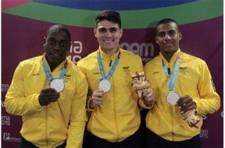 Plata y bronce en el inicio del ciclismo de pista en los Panamericanos