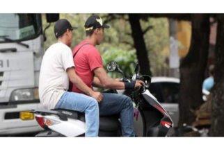 Prohíben el parrillero hombre en Uré ante aumento de criminalidad
