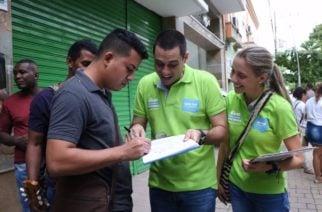 Con más del 50% Salin Ghisays lidera la intención de voto para la Alcaldía de Montería