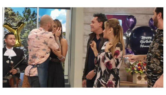 Se confirman los rumores,  presentadores de Canal 1 si tienen un romance