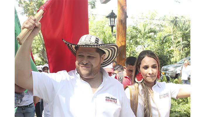 Veeduría ciudadana desmiente rumores sobre inhabilidad del candidato liberal Orlando Benítez