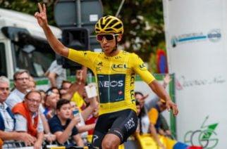 ¡A celebrar! El campeón Egan Bernal ya llegó a Colombia para reencontrarse con su gente