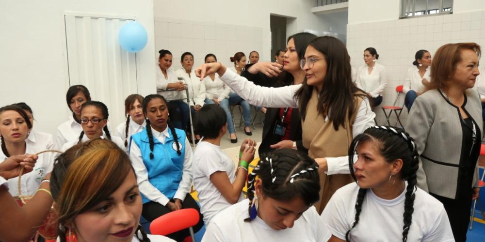 En la cárcel El Buen Pastor de Bogotá se inauguró el primer Centro de Rehabilitación de Adicciones para Privadas de Libertad