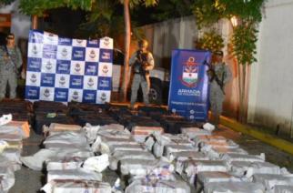 Golpe al narcotráfico: Incautaron dos toneladas de cocaína de en Cartagena