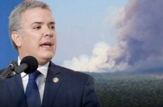 Presidente Duque ofrece ayuda para combatir el incendio que afecta al Amazonas