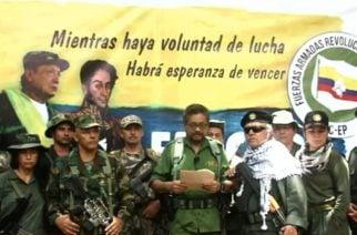 'Iván Márquez' y 'Jesús Santrich' anuncian a través de un video el nacimiento de una nueva guerrilla
