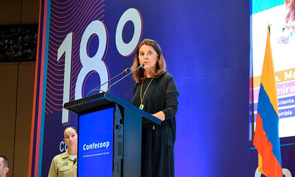 Vicepresidenta liderará la construcción de la política pública para el cooperativismo en Colombia