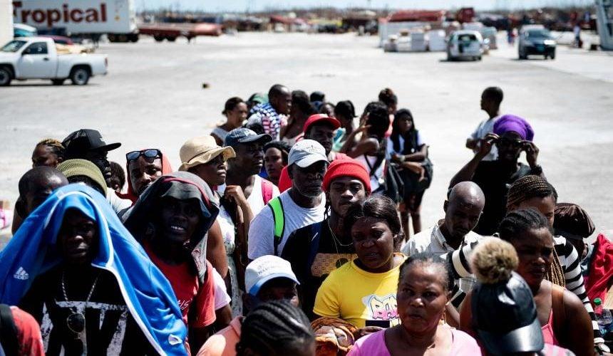 Asciende a 45 las víctimas mortales en Bahamas por el huracán Dorian
