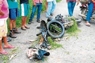 Mujer murió arrollada cuando iba en su motocicleta en Cereté