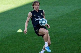 Luka Modric, centrocampista del Real Madrid, sufrió una lesión