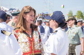 Para empoderar a la mujer, la vicepresidente Marta Lucía Ramírez recibe Cumbre Marítima Mundial
