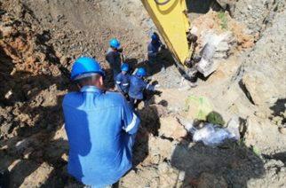 Un muerto y tres heridos tras deslizamiento en una mina de Puerto Libertador