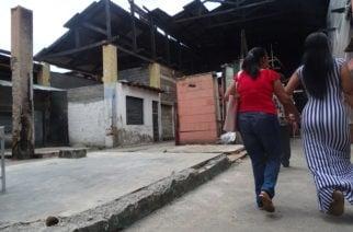 Tras el incendio, comerciantes del Mercado Central siguen esperando respuestas de la Administración