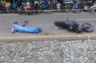 Un hombre murió arrollado en Montería mientras pasaba una calle