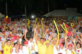 Montelíbano se desbordó en el 'Gran Tarimazo' en apoyo a los candidatos liberales