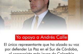 """Representante Andrés Calle: """"Ni un paso atrás, siempre adelante"""""""