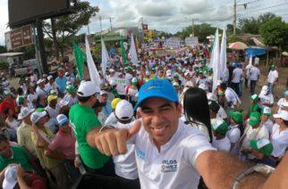 Boletín de campaña: 12 mil loriqueros caminaron con paso firme hacia la victoria con Carlos Gómez
