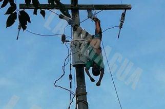 Hombre se electrocutó mientras trataba de arreglar el fluido eléctrico en San Miguel, Pelayo