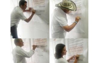 Candidatos a la Gobernación firmaron el Pacto por la Juventud