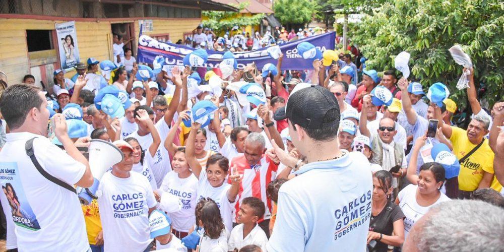 Boletín de campaña: Carlos Gómez planea que Córdoba no siga de espaldas a la ciénaga de Ayapel